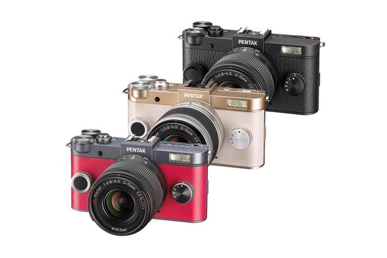 Ricoh presenta sus nuevas cámaras Pentax en México - PENTAX-QS-1