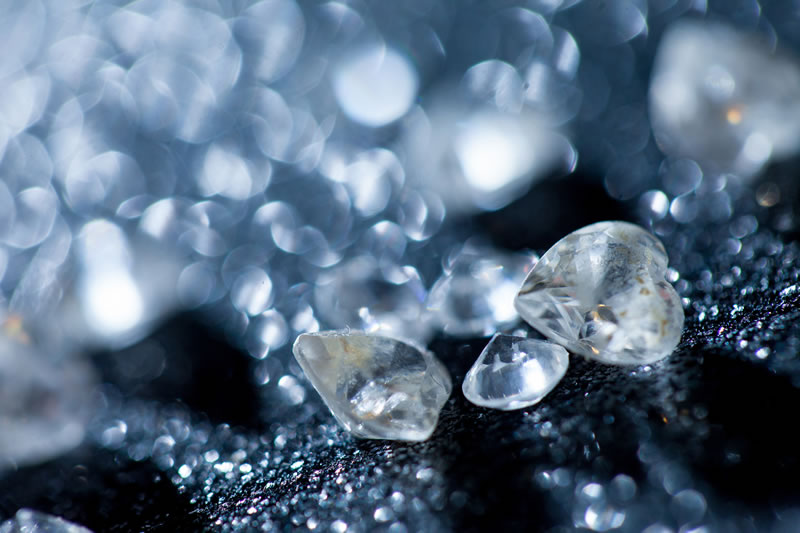 Mexicanos logran obtener en laboratorio partículas de diamantes - Particulas-de-diamante