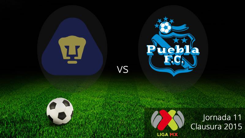 Pumas vs Puebla, Jornada 11 del Clausura 2015 - Pumas-vs-Puebla-Clausura-2015