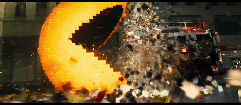 Pixeles presenta su trailer con Adam Sandler y Pac Man - Trailer-de-Pixeles-con-Adam-Sandler