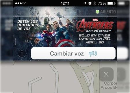 Los Avengers te llevan a tu destino gracias a Waze