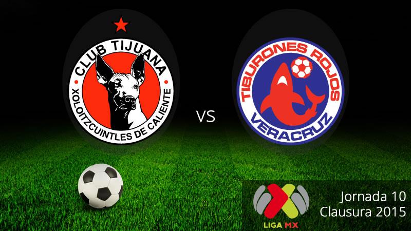 Tijuana vs Veracruz, Jornada 10 del Clausura 2015 - Xolos-de-Tijuana-vs-Veracruz-Clausura-2015