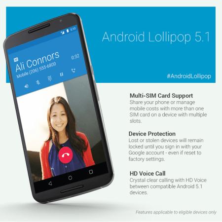 Llega Android 5.1 a dispositivos Nexus y estas son sus novedades