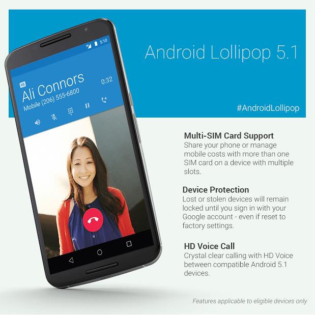 Llega Android 5.1 a dispositivos Nexus y estas son sus novedades - android-5.1-nexus
