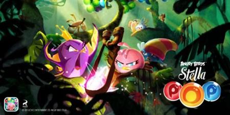 Rovio anuncia el lanzamiento de Angry Birds Stella POP