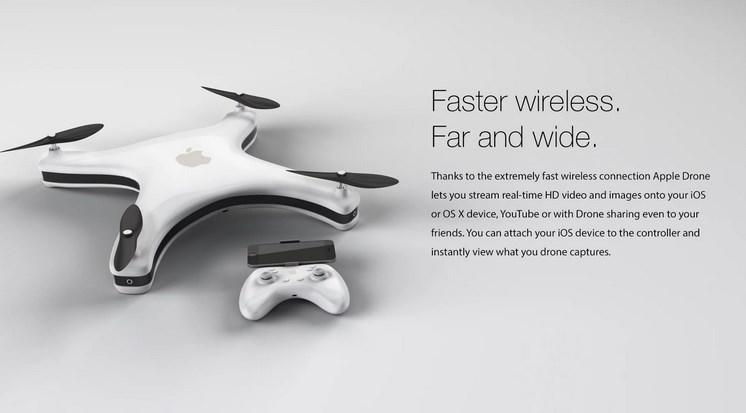 Así luciría un drone si fuera diseñado por Apple - drone-de-apple-2