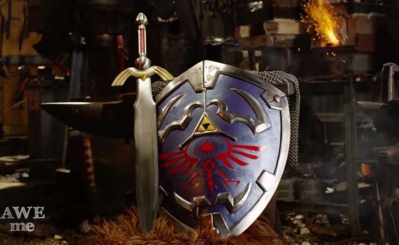 """Recrean escudo Hylian de Link en """"Man at Arms: Reforged"""" [Video] - escudo-hylian"""