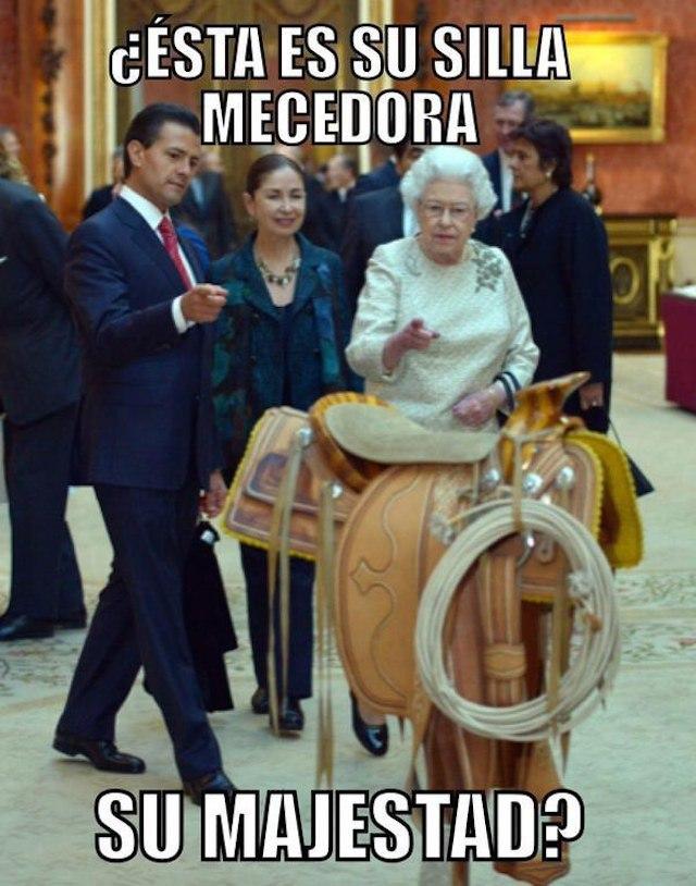Lo mejor de la visita de Peña Nieto a UK en Memes - meme_uk5
