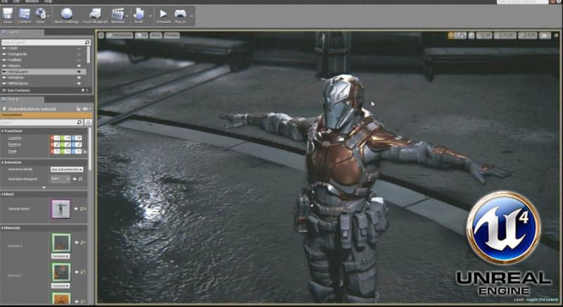 Desarrollar juegos con Unreal Engine 4 ahora será gratis - unreal-engine-4--800x437
