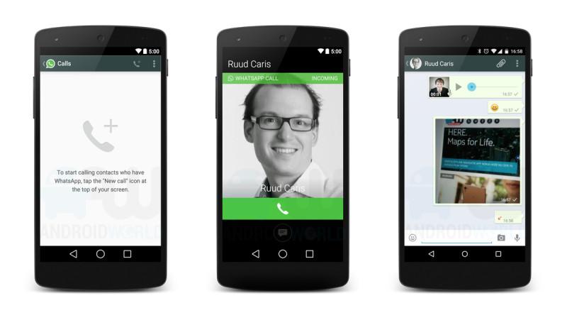 Llamadas a través de WhatsApp ya están disponibles para Android sin invitación - whatsapp-llamadas-android-800x451