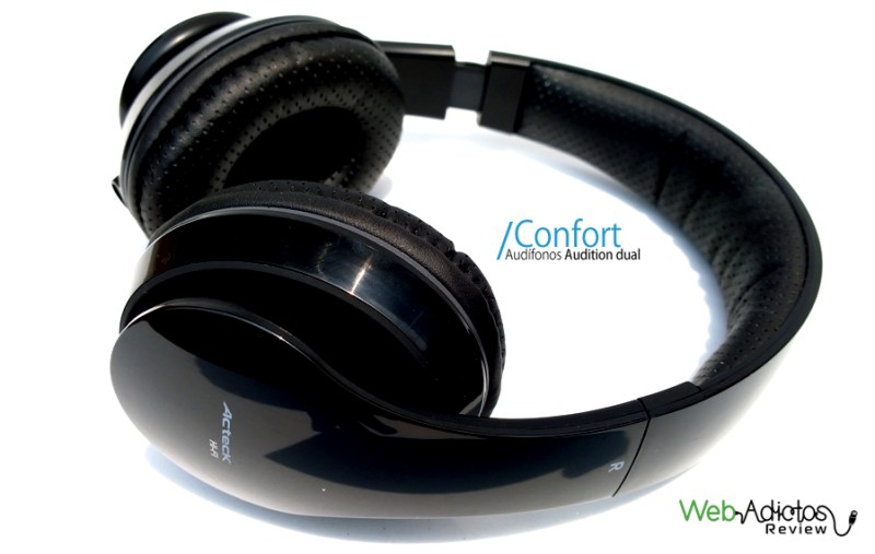 Audífonos con micrófono Audition Dual de Ackteck - Acteck-Audifonos-con-microfono-review-webadictos
