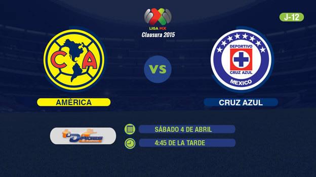 América vs Cruz Azul, Clásico Joven del C2015 - America-vs-Cruz-Azul-2015-streaming