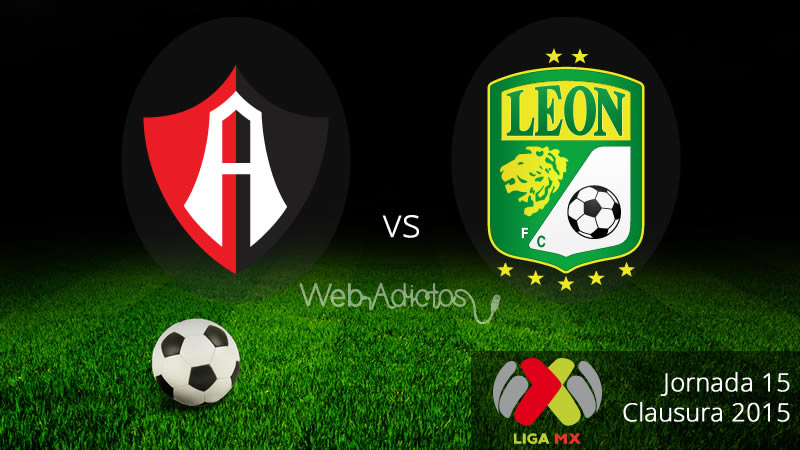 Atlas vs León en el Clausura 2015 de la Liga MX - Atlas-vs-Leon-Clausura-2015