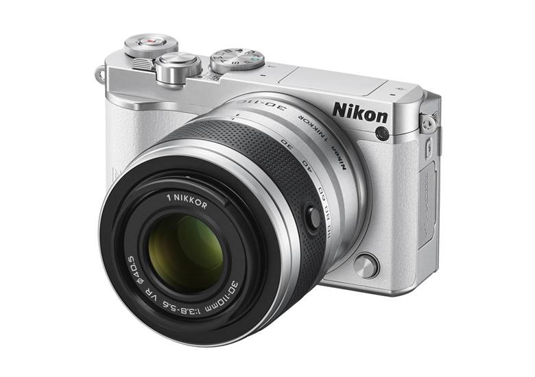 NIKON 1 J5, nueva cámara compacta de Nikon con lentes intercambiables - Camara-Nikon-1-J5