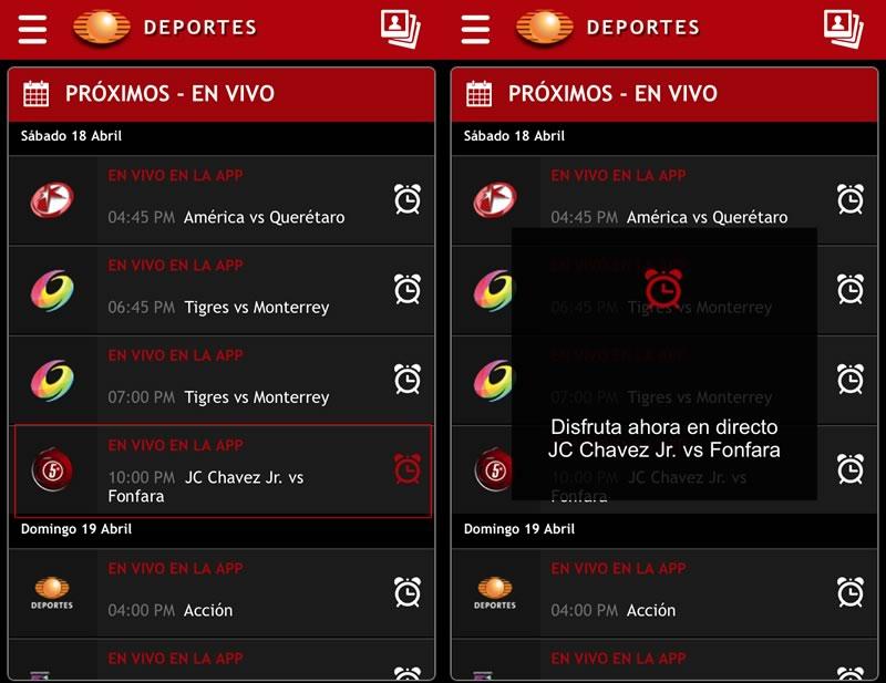 Pelea de Chávez Jr. vs Fonfara el sábado 18 - Chavez-vs-Fonfara-en-vivo-Televisa-Deportes