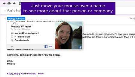 Correo Yahoo lanza «Yahoo Contact Cards»