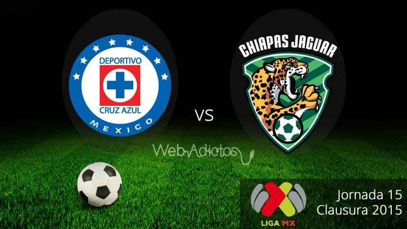 Cruz Azul vs Jaguares, Jornada 15 del Clausura 2015 - Cruz-Azul-vs-Jaguares-de-Chiapas-Clausura-2015