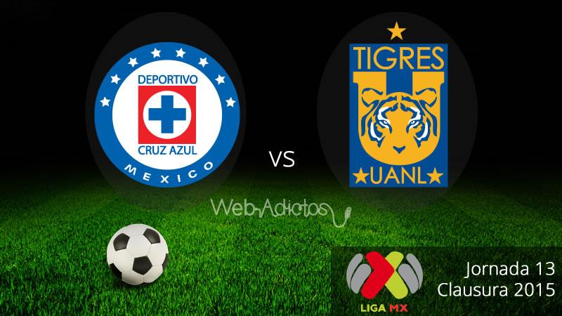 Cruz Azul vs Tigres, Jornada 13 del Clausura 2015 - Cruz-Azul-vs-Tigres-Clausura-2015