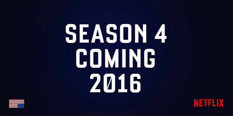 La cuarta temporada de House of Cards llegará en 2016 - Cuarta-Temporada-House-of-Cards-800x400