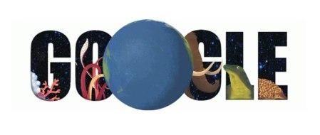 Cuestionario del Día de la tierra para saber qué animal eres en un doodle de Google