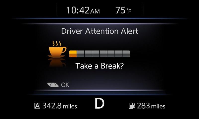 Nissan y su innovador sistema de asistencia al manejar - Driver-Attention-Alert-Nissan