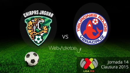 Jaguares vs Veracruz, Jornada 14 del Clausura 2015