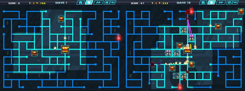 PX57, el juego creado por crowdsourcing ya se puede descargar ¡Gratis! - Juego-Tower-Defense-PX57-gratis