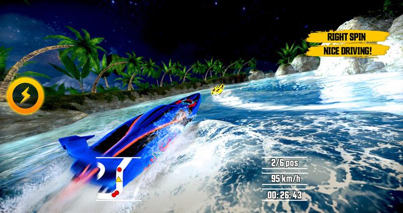 Driver Speedboat, el juego de lanchas para iOS y Android ya se puede descargar - Juego-de-carreras-de-lanchas-gratis-Driver-Speedboat