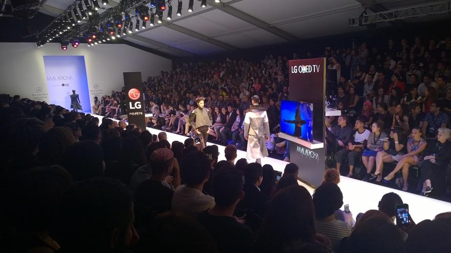 LG estuvo presente en el fashion week México 2015 - LG-patrocinador-pasarela-MALAFACHA