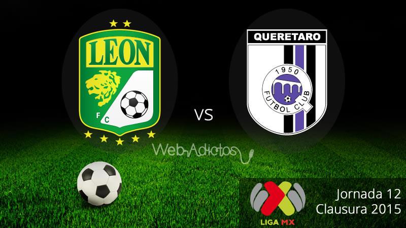 León vs Querétaro, Fecha 12 del Clausura 2015 - Leon-vs-Queretaro-Clausura-2015-800x450