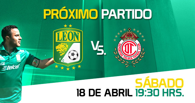 León vs Toluca, Jornada 14 del Clausura 2015 - Leon-vs-Toluca-Clausura-2015-en-vivo-Claro-Sports