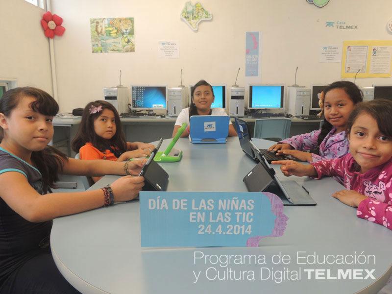 Telmex celebrará el Día Internacional de las Chicas en las TIC - Mujeres-en-TI