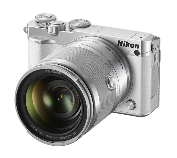 NIKON 1 J5, nueva cámara compacta de Nikon con lentes intercambiables - Nikon-1-J5-Lentes