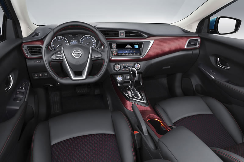Nissan Lannia se estrenó en el Auto Show de Shanghái 2015 - Nissan-Lania-Interior