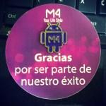 La mexicana M4, lanza su smartphone M4 Style SS4045 - PIN-M4-GRACIAS