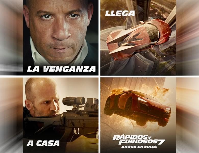 Rápidos y Furiosos 7 rompe records en su estreno - Rapidos-y-Furiosos-7-Records-Estreno