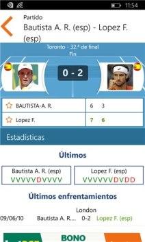 Sporty Trader, la app para seguir tus deportes favoritos - Resultados-tenis