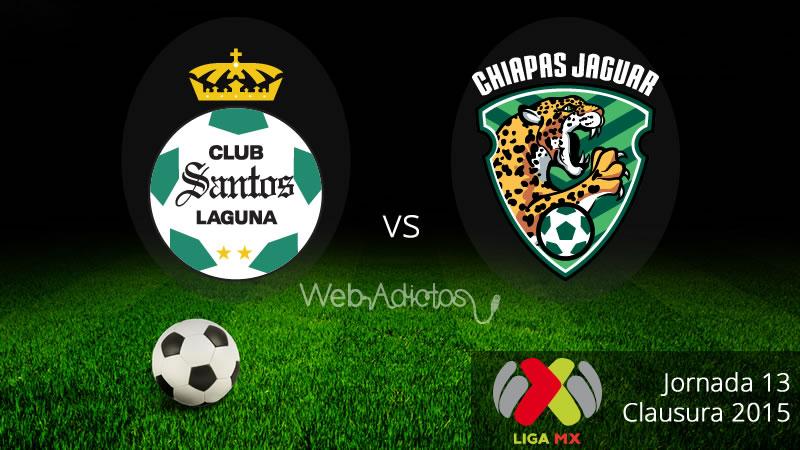 Santos vs Jaguares, Jornada 13 del Clausura 2015 - Santos-vs-Jaguares-Clausura-2015