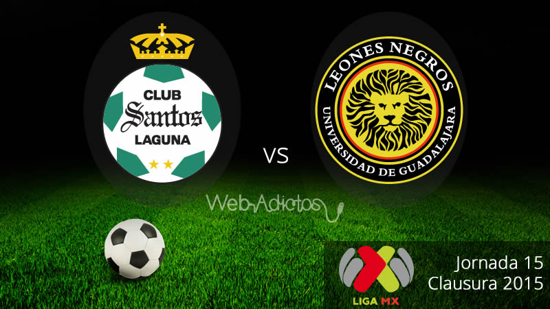 Santos vs UDG, Jornada 15 del Clausura 2015 - Santos-vs-UDG-Clausura-2015
