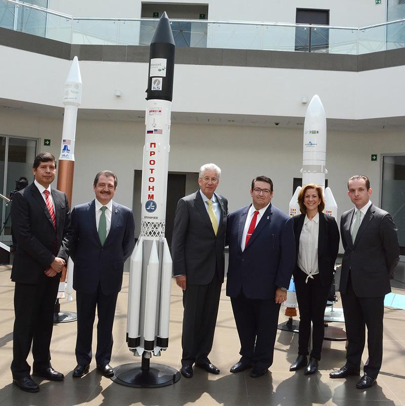 México lanzará el Satélite Centenario el 29 de abril - Secretario-de-Comunicaciones-y-Transportes-MEXSAT
