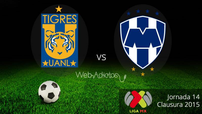 Tigres vs Monterrey, Clásico regio en el Clausura 2015 - Tigres-vs-Monterrey-Clausura-2015