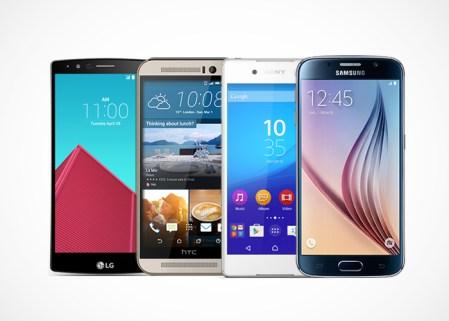LG G4 contra la gama alta de Samsung, Sony y HTC