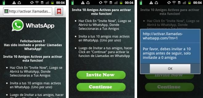 Las llamadas de WhatsApp son usadas como gancho por cibercriminales ¡Cuidado! - mensajes-para-activar-llamadas-de-whatsapp-falsos