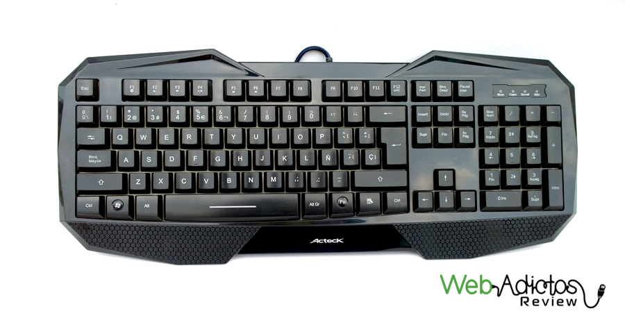 teclado gamer 1 Kit Gamer: Teclado + Mouse de Acteck