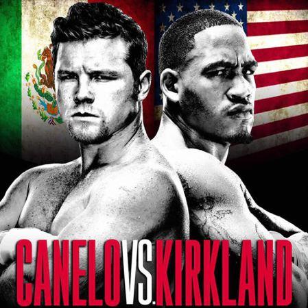 Canelo vs Kirkland este 9 de mayo