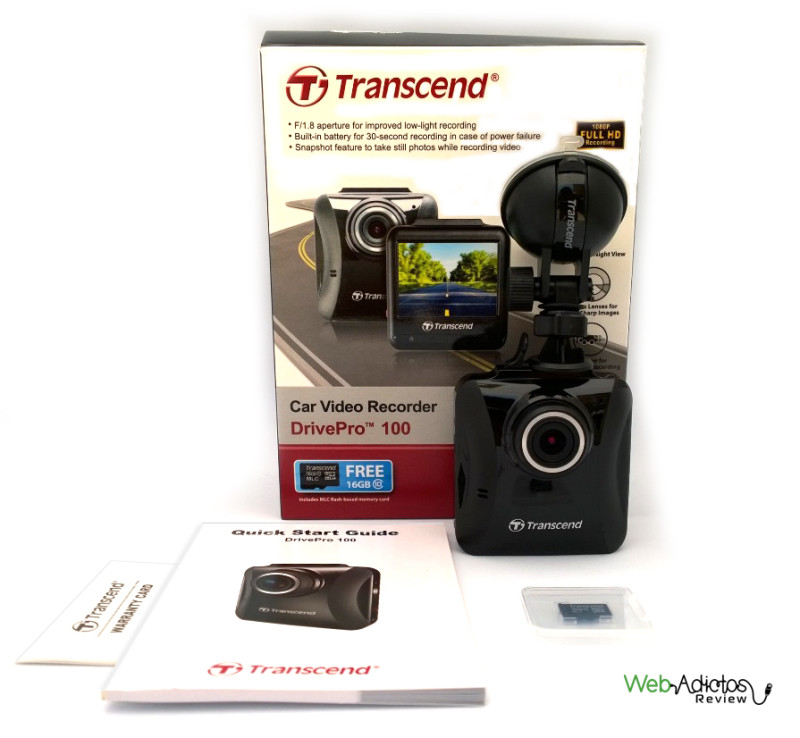 DrivePro 100, una cámara para autos a precio accesible de Transcend - Car-Video-Recorder-DrivePro-100-Transcend-34-800x738