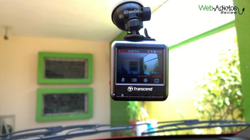 DrivePro 100, una cámara para autos a precio accesible de Transcend - Car-Video-Recorder-DrivePro-100-Transcend-47-800x450