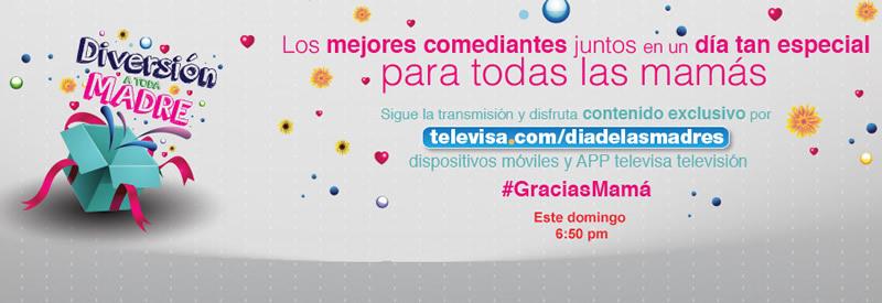 Disfruta el especial de Día de la madre de Televisa en vivo
