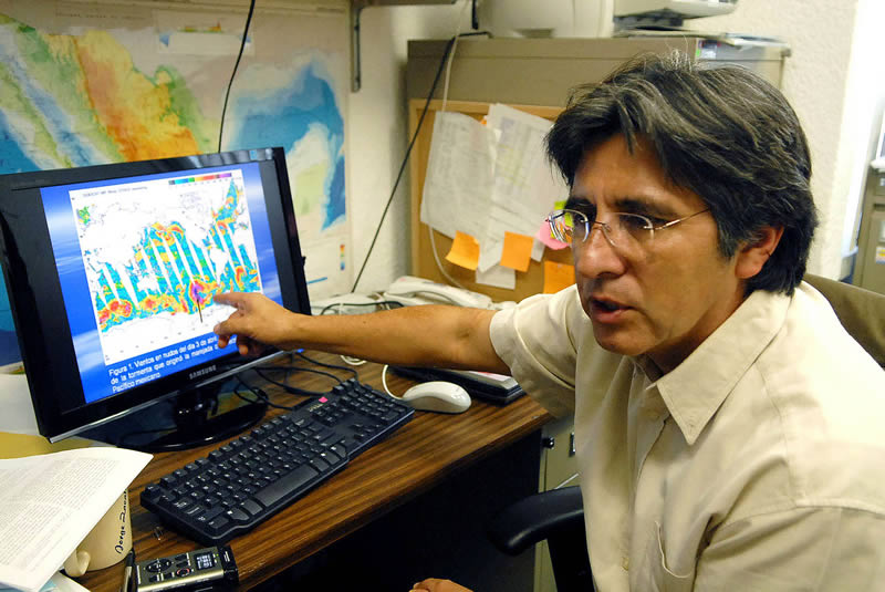Mar de fondo es un evento meteorológico que puede preverse: científico de la UNAM - Mar-de-fondo-prediccion