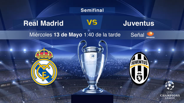 Real Madrid vs Juventus, Semifinal de Champions (Vuelta) - Rea-Madrid-vs-Juventus-2015-Televisa-Deportes